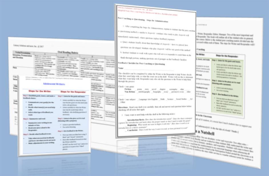 Peer Coaching for English Language Learners